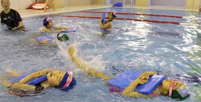 水泳 年少・年中・年長