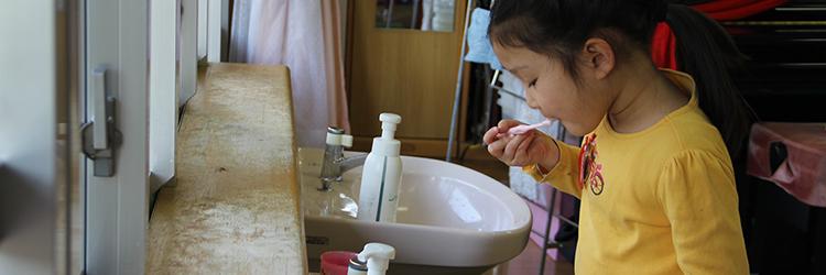 歯磨き・うがい